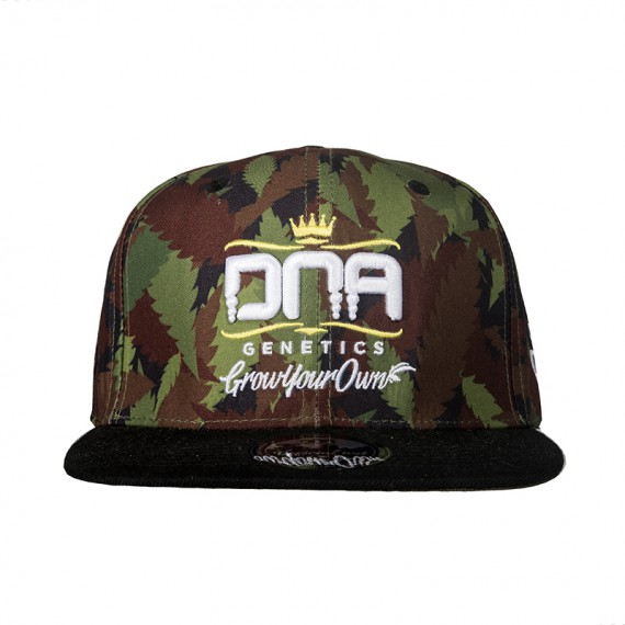 DNA Genetics Green Camo Fitted Hat