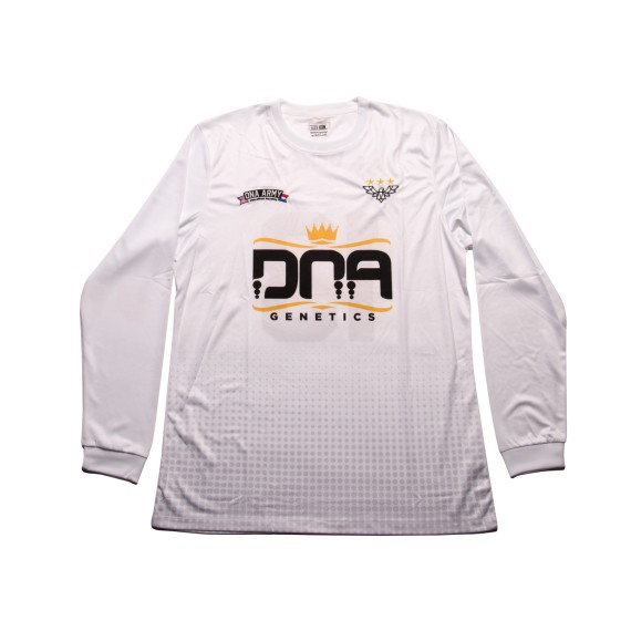 DNA Soccer Jersey Tee White
