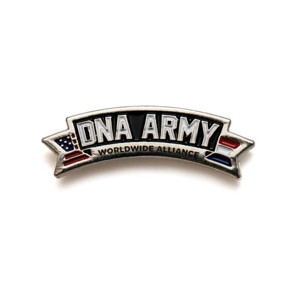 DNA Army Logo Big Pin