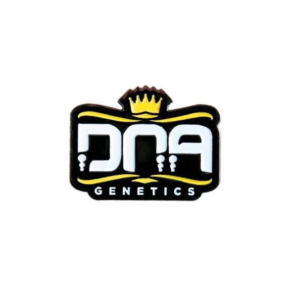 DNA Genetics Core Logo Pin-Yellow