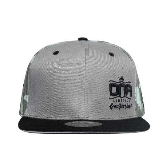 DNA Genetics Grey Camo Fitted Hat