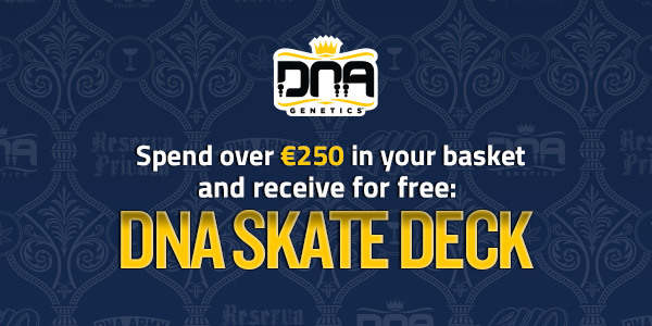 Spend over 250 Euros and receive a free skate deck